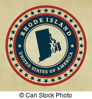 Stamp Vector Clip Art Royalty Free  23 Rhode Island Stamp Clipart