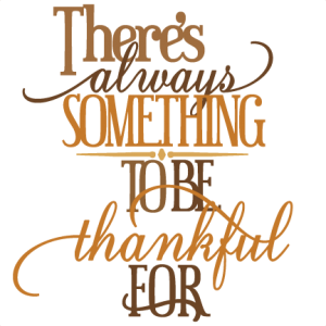 Be Thankful for Everything Clip Art – Clipart Download