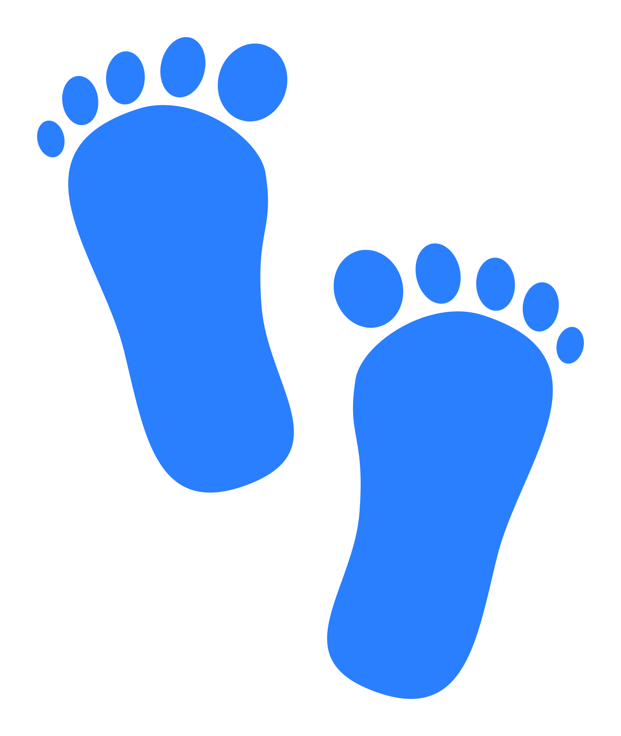Baby Footprints Clipart - Clipart Suggest