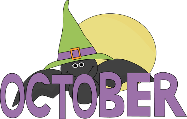 October Calendar Clipart : Month of october clipart suggest