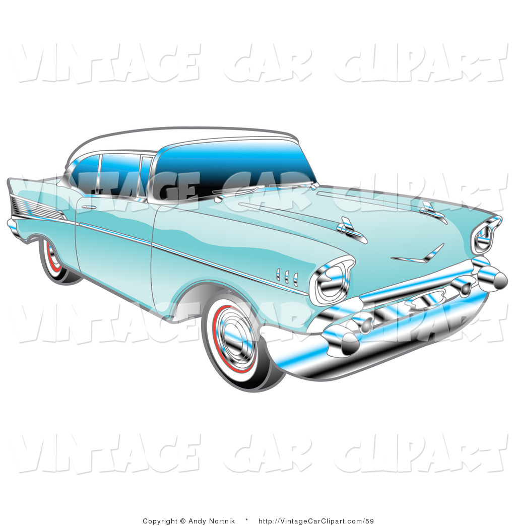 Classic Car Clipart Royalty Free Stock Vintage Car
