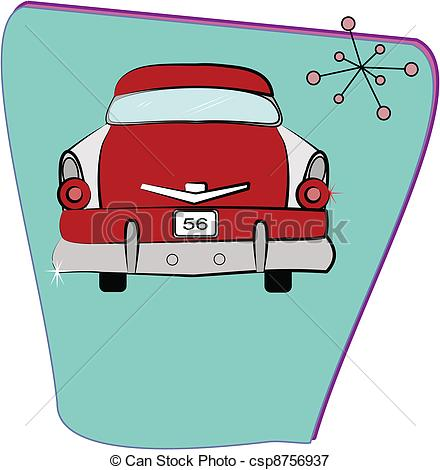 Clip Art 50s Clip Art 50s car clipart kid illustration drawings and eps clip art graphics images