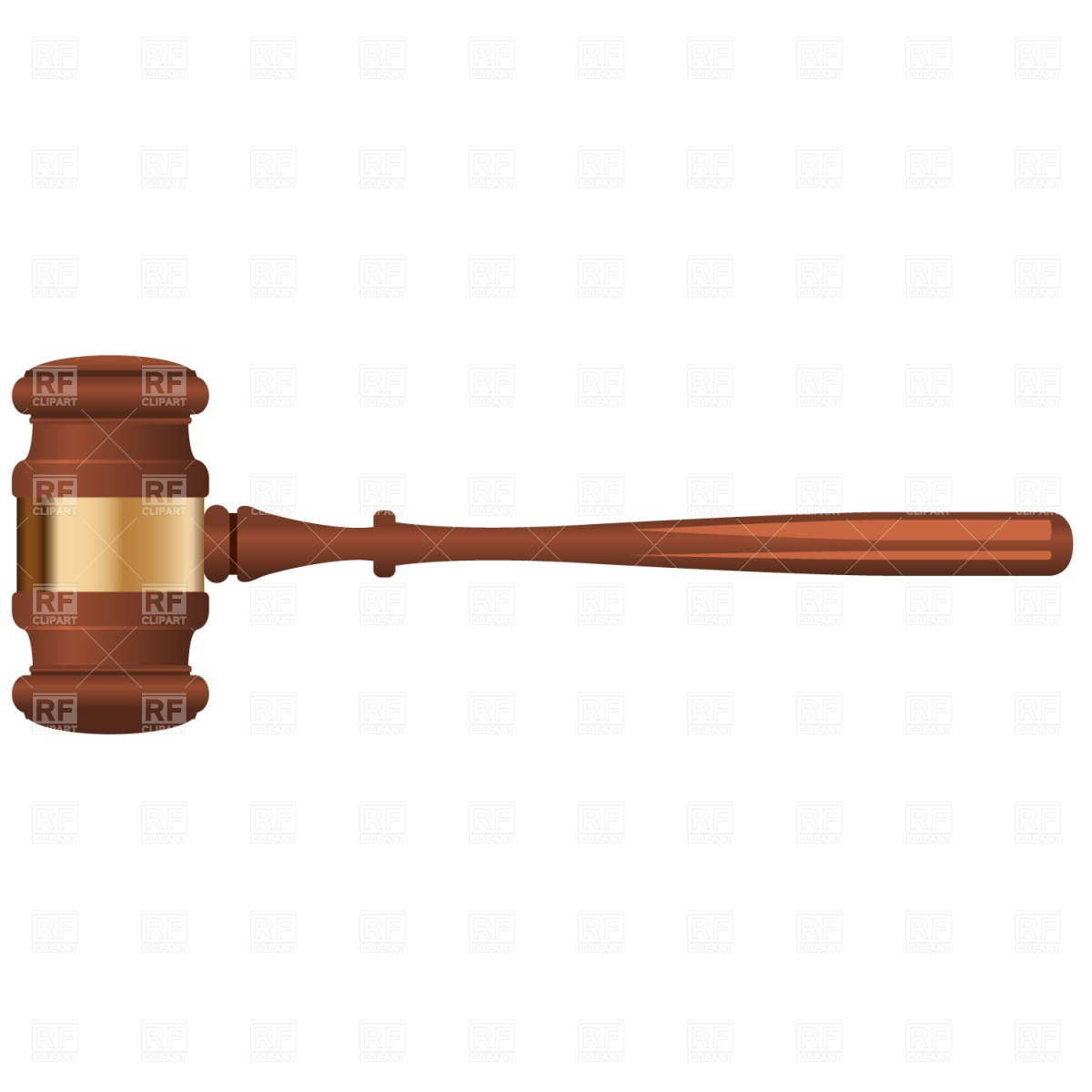 Law Gavel Clipart - Clipart Kid