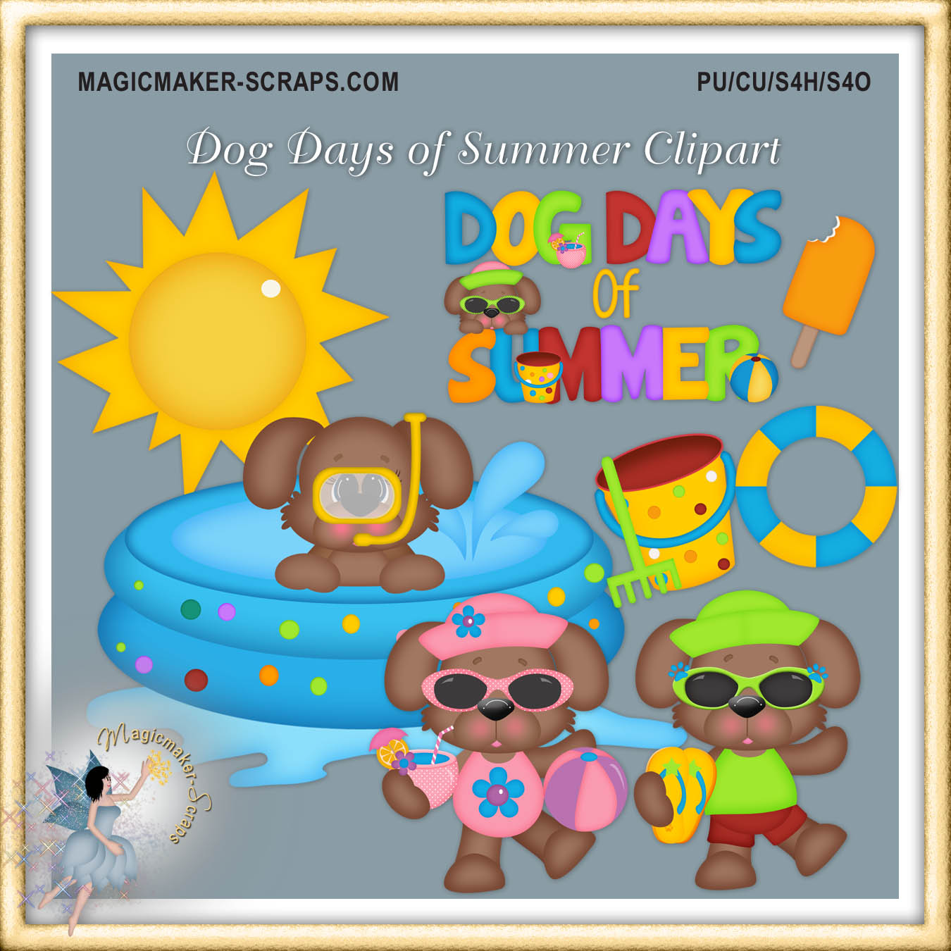 Home    Clipart Cu    Dog Days Of Summer Clipart