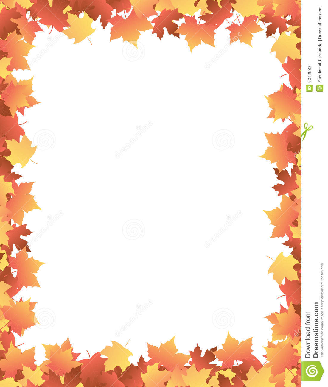 Fall Tree Border Clipart - Clipart Kid