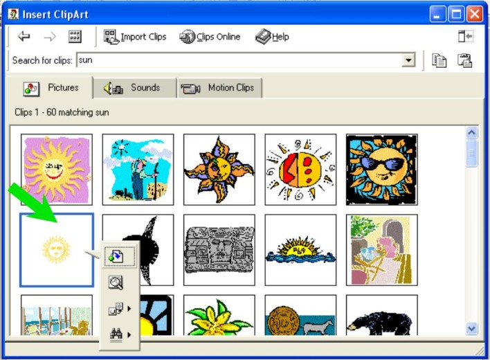 Microsoft Office Galle...Clipart Gallery Microsoft Office