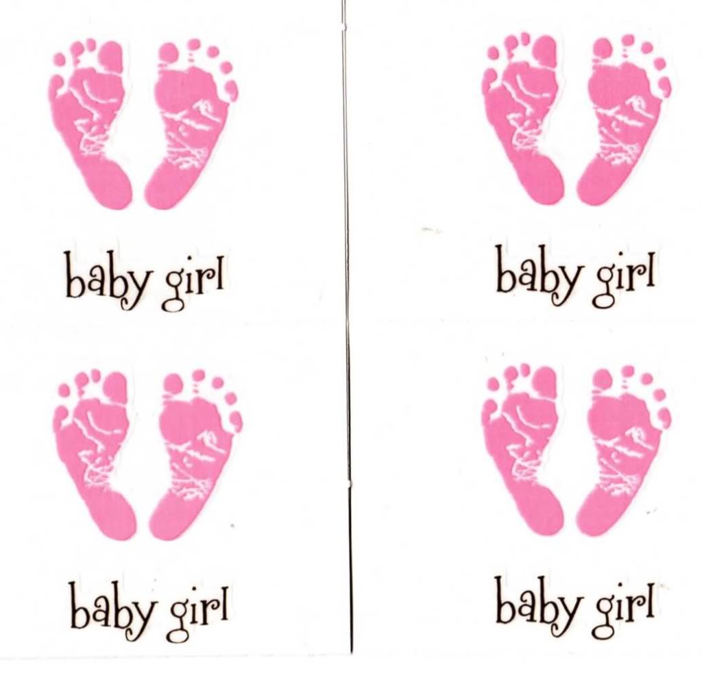 Baby Footprints Clipart - Clipart Kid