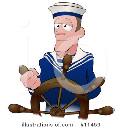 Royalty Free  Rf  Sailor Clipart Illustration By Geo Images   Stock