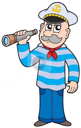 Sailor Clipart Cutcaster Photo 100361352 Sailor With Spyglass Jpg