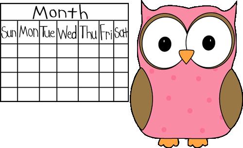 free clipart for teachers calendar - photo #9