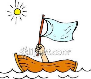 Sinking Clipart Person In A Sinking Boat Royalty Free Clipart Picture