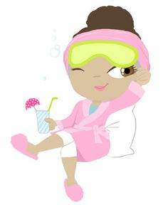 Clip Art Spa Clip Art spa party clipart kid mani pedi on pinterest birthday