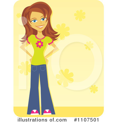 Teenager Clipart  1107501 By Amanda Kate   Royalty Free  Rf  Stock