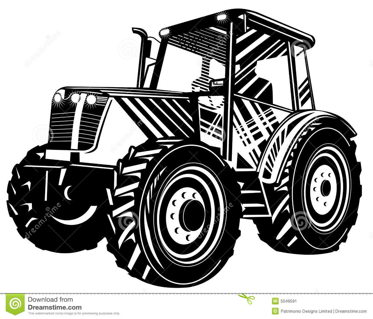 Muddy Tractor Clip Art : Tractor black and white clipart suggest