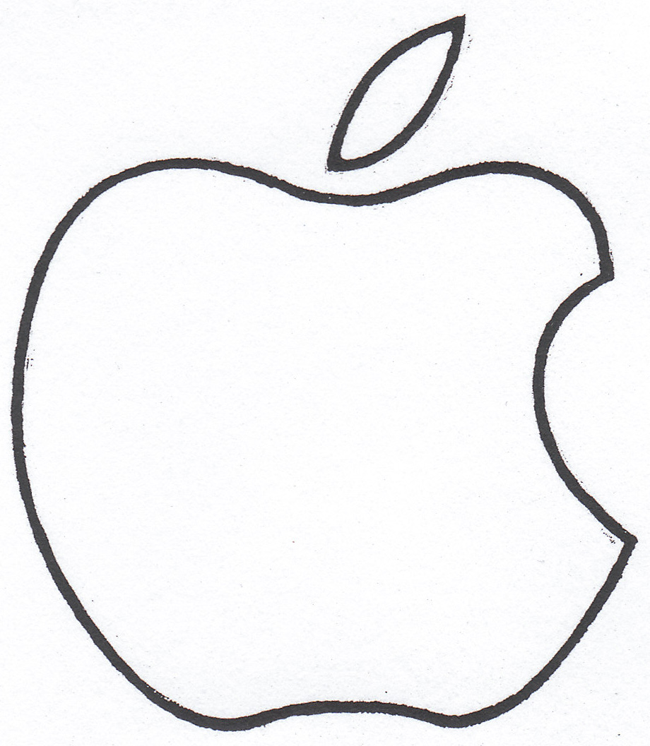 11 White Apple Logo Clip Art Free Cliparts That You Can Download To