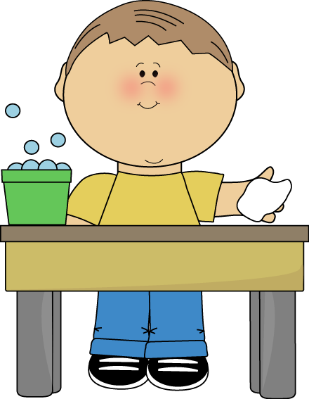 Boy Classroom Table Washer Clip Art   Boy Classroom Table Washer