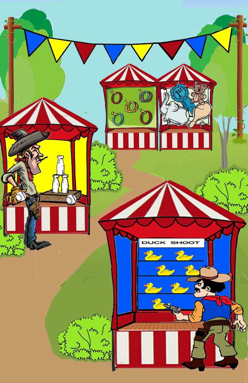 Carnival Ticket Booth Clipart The First Of The Window Panels