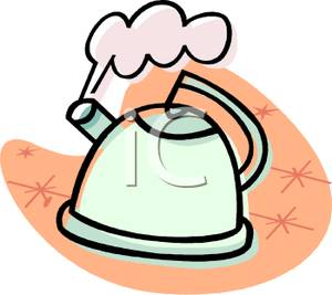 Kettle Steam Clipart Boiling Water Clipart ...