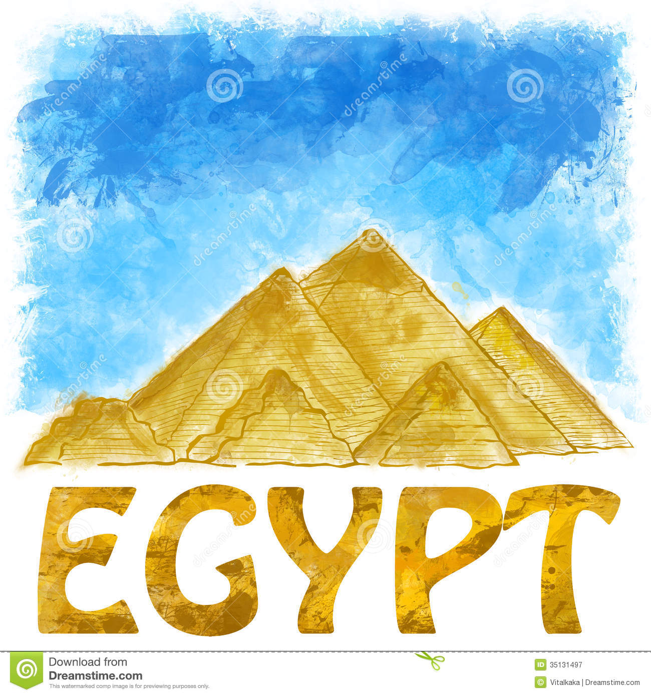 Egyptian Pyramids Royalty Free Stock Photography   Image  35131497