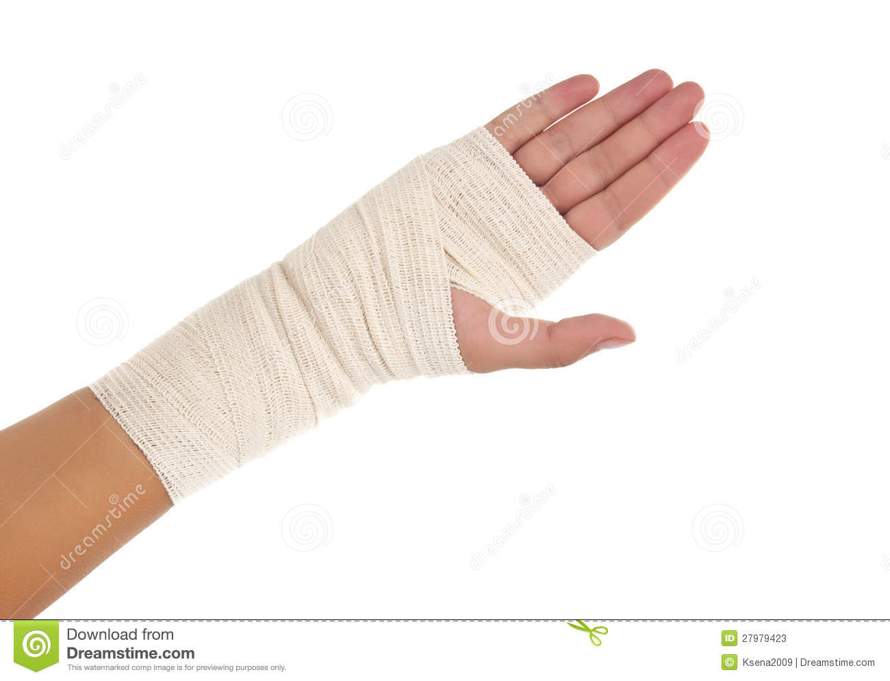Bandaged Hand Clipart - Clipart Kid