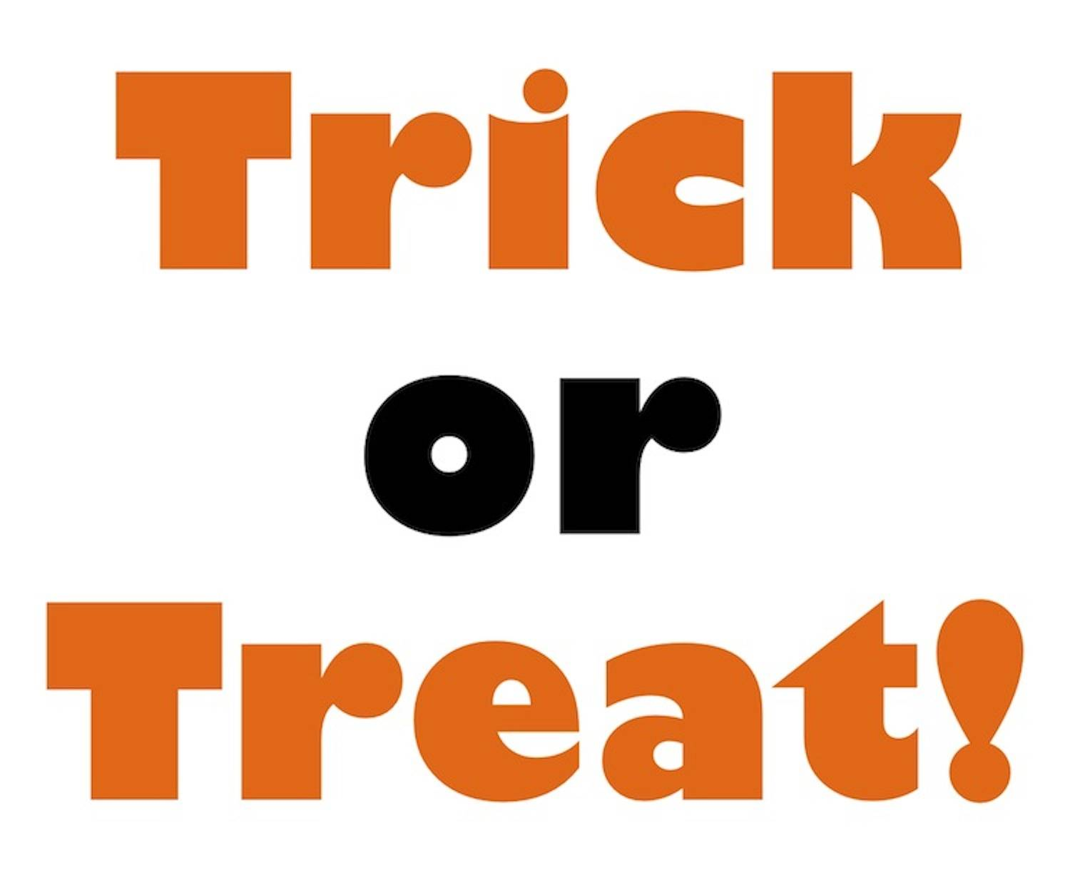 Kids Trick Or Treat Clipart Halloween Trick Or Treat
