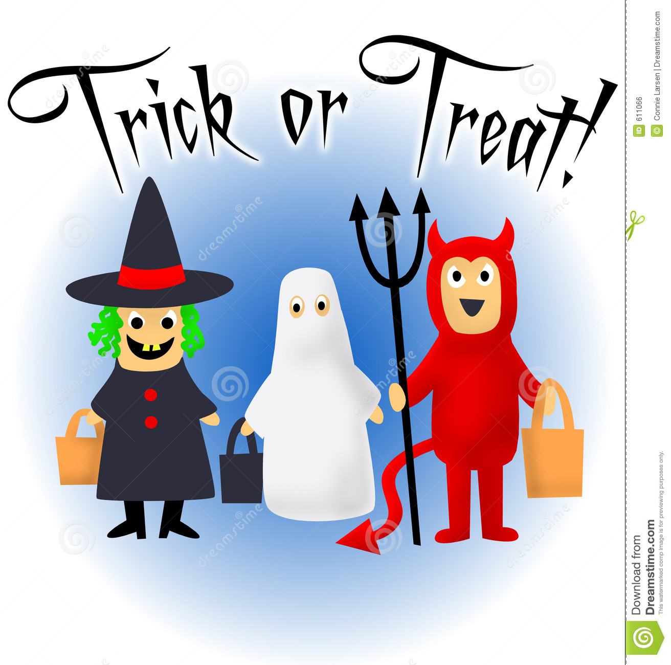 Kids Trick Or Treating Clipart Trick Or Treat