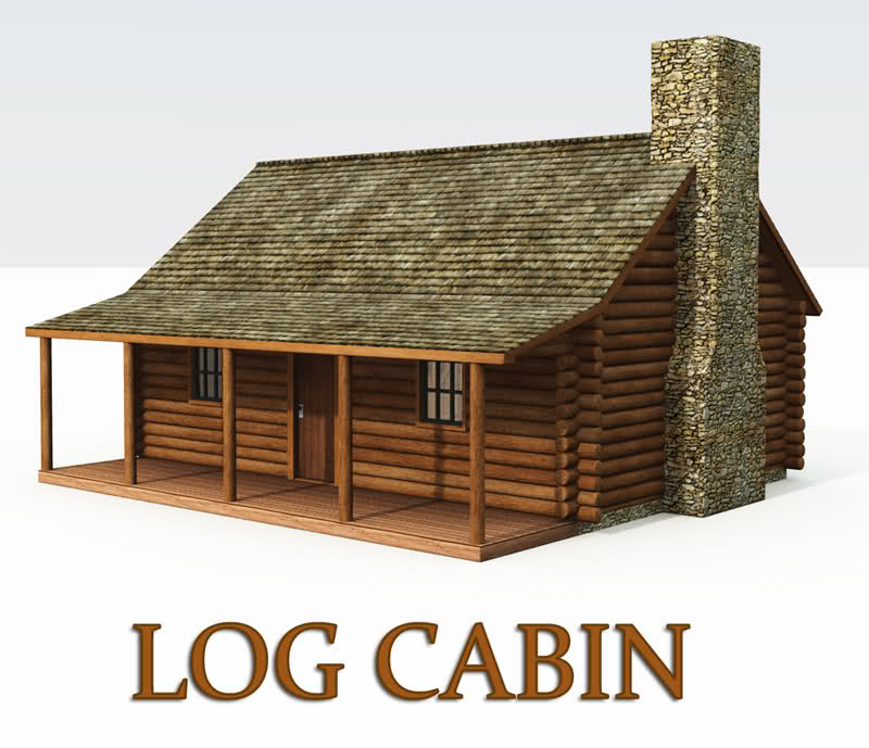 Log Cabbin Clipart Clipart Suggest