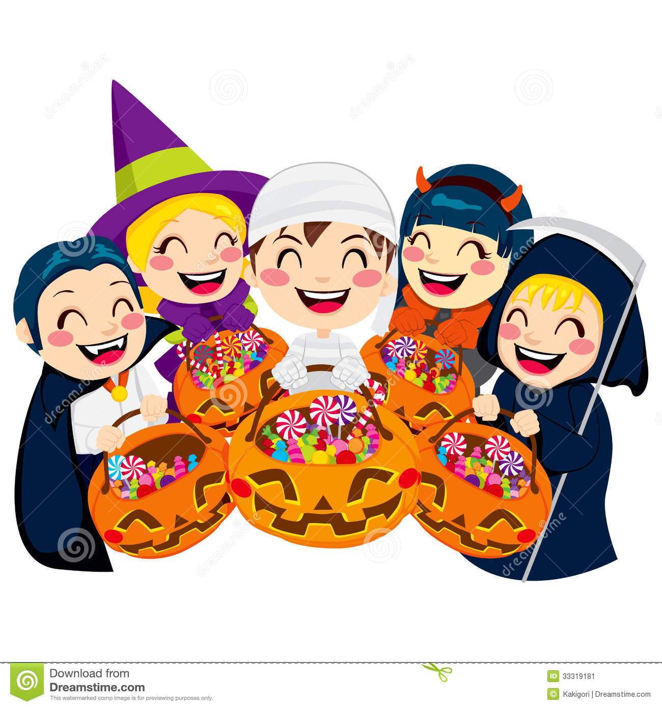 Clip Art Trick Or Treat Clipart trick or treat clipart kid candy halloween kids five doing treat