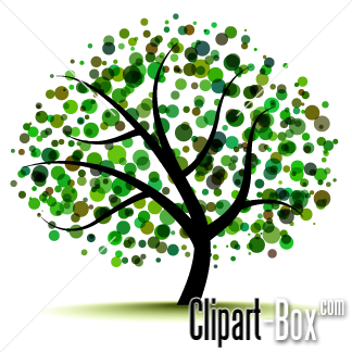 Related Abstract Tree Cliparts