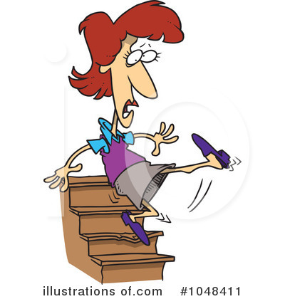 Stairs Clipart  1048411   Illustration By Ron Leishman
