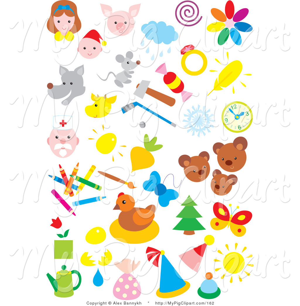 Swine Clipart Of People Animals Weather Sports And Art On White By
