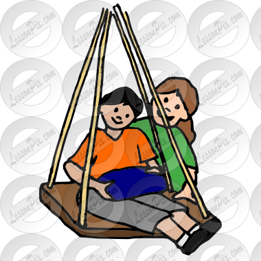 Swing Picture For Classroom   Therapy Use   Great Swing Clipart