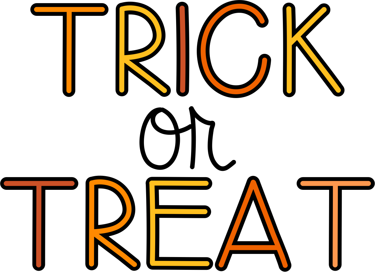 Trick Or Treat Image   Clipart Best