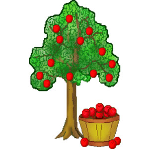 Apple Tree Clipart   Clipart Panda   Free Clipart Images
