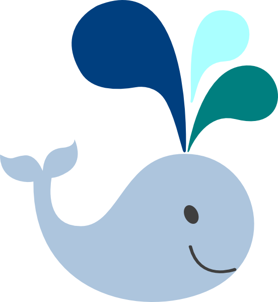 Baby Blue Whale Clip Art   Clipart Panda   Free Clipart Images