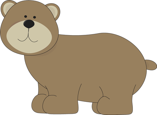 Brown Bear   Cute Brown Bear  This Bear Image Would Be Great For A