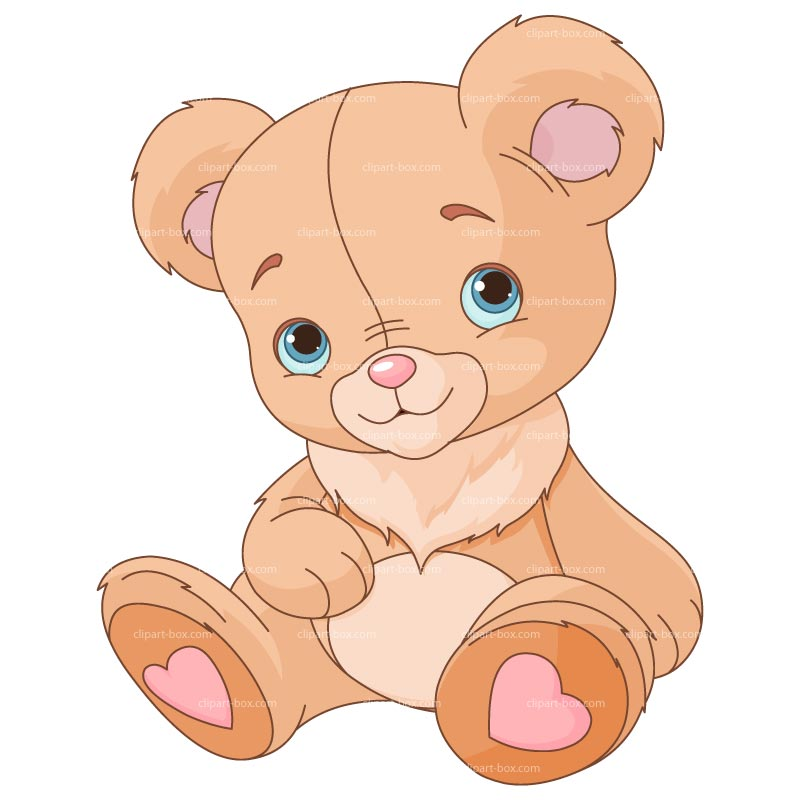 Clipart Cute Teddy Bear   Royalty Free Vector Design
