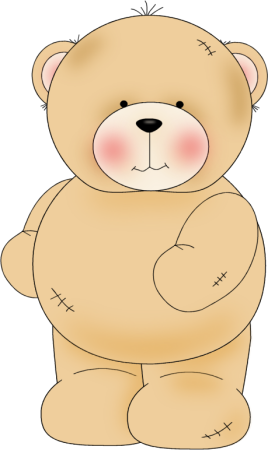 Clip Art Cute Bear Clipart cute bear clipart kid worn with stitching