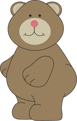 Cute Brown Bear   Cute Chubby Brown Bear With A Pink Nose