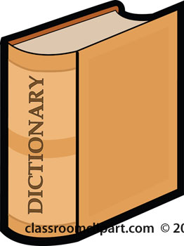 Dictionary Clip Art Free