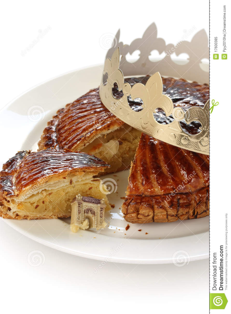 Galette Des Rois  King Cake Royalty Free Stock Photo   Image
