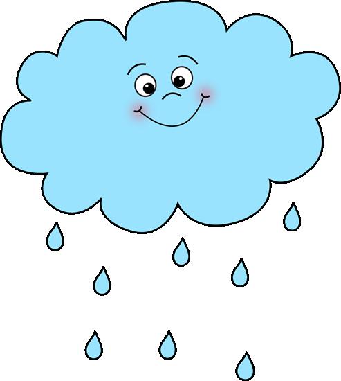 Cloud Face Clipart - Clipart Kid