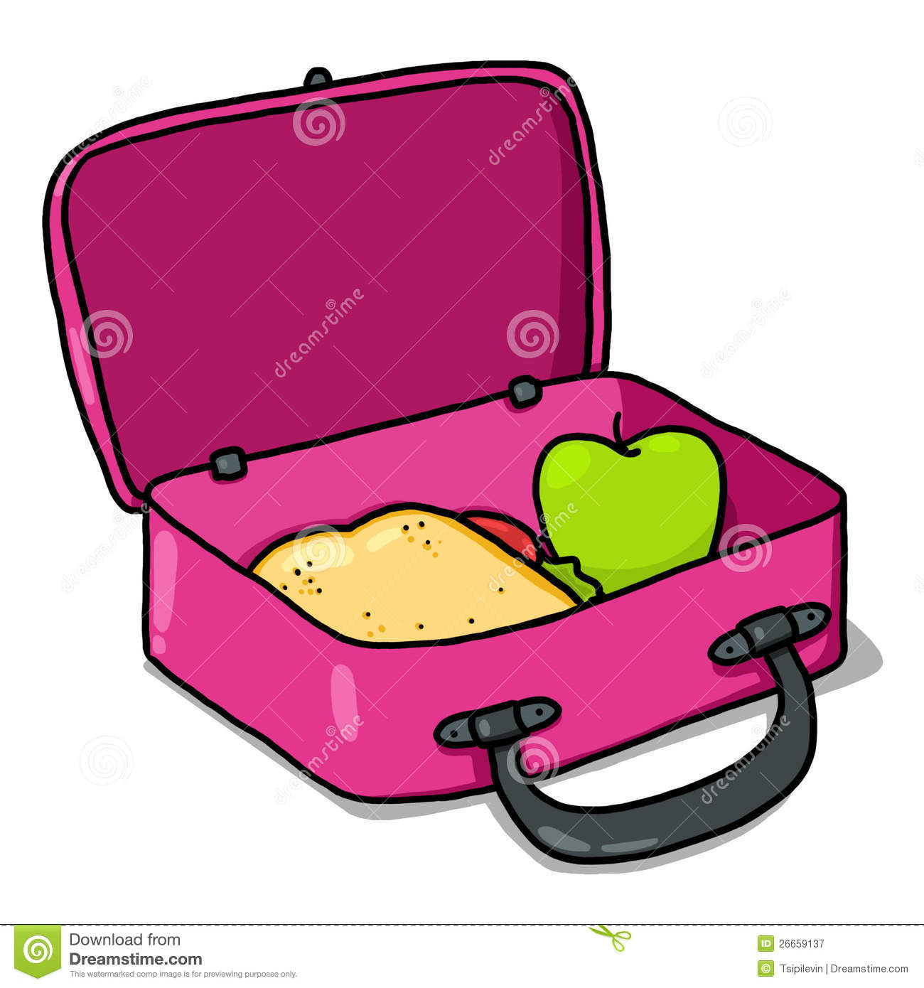 Lunch Box Clipart - Clipart Suggest