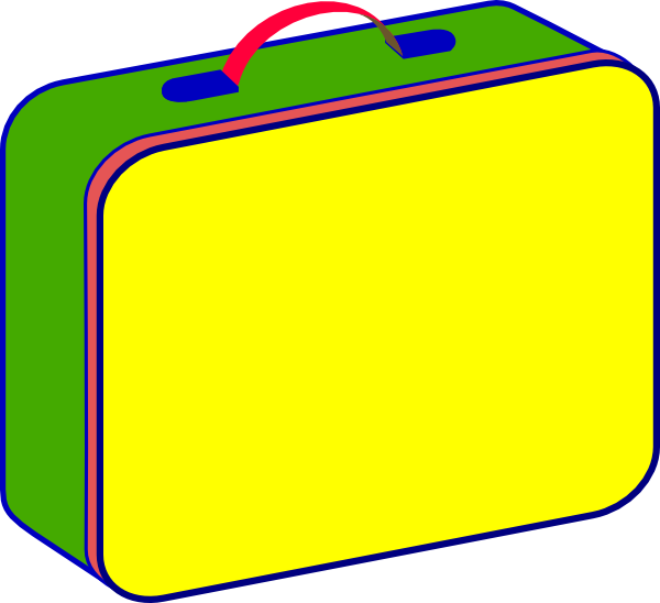 Lunch Box Clip Art At Clker Com   Vector Clip Art Online Royalty Free