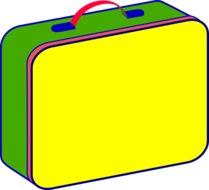 Lunch Box Clipart - Clipart Kid