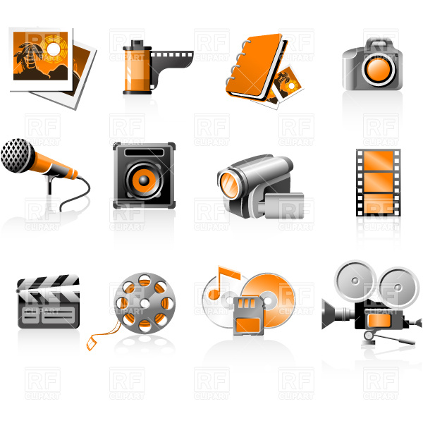 Multimedia Clip Art Images   Pictures   Becuo