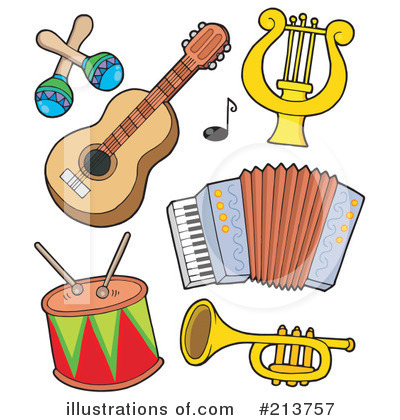 Musical Instruments Clipart - Clipart Suggest