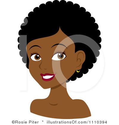 Natural Black Hair Clipart   Clipart Panda   Free Clipart Images