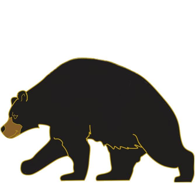 Clip Art Black Bear Clipart black bear clipart kid odyssey of the mind clip art westernblackbearwalking gif