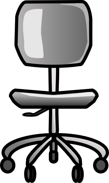 Office Chair Clip Art At Clker Com   Vector Clip Art Online Royalty
